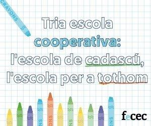 Nova imatge de la FeCEC. Tria Escola Cooperativa