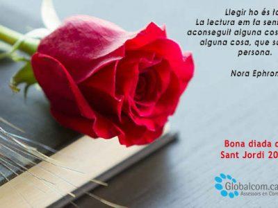 Bona diada de Sant Jordi'19