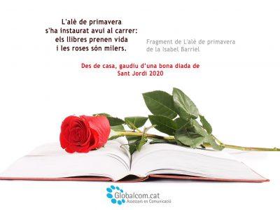 Sant Jordi 2020 des de casa